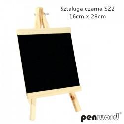 SZTALUGA CZARNA SZ2 16cm x 28cm