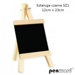 SZTALUGA CZARNA SZ1 12cm x 23cm