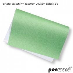 BRYSTOL BROKAT 40x60cm 200gsm ZIELONY a'5