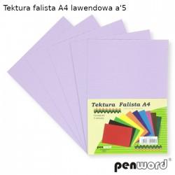 TEKTURA FALISTA A4 LAWENDOWA a'5