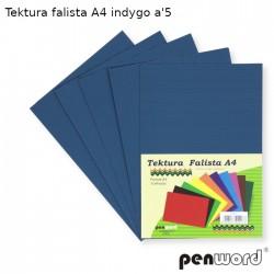 TEKTURA FALISTA A4 INDYGO a'5