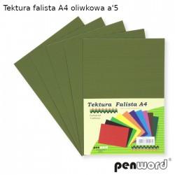 TEKTURA FALISTA A4 OLIWKOWA a'5