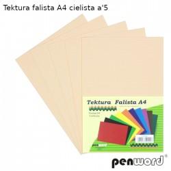 TEKTURA FALISTA A4 CIELISTA a'5