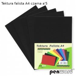 TEKTURA FALISTA A4 CZARNA a'5