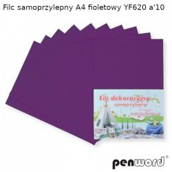 FILC SAMOPRZYLEPNY A4 FIOLETOWY YF620 a'10