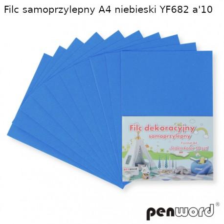 FILC SAMOPRZYLEPNY A4 NIEBIESKI YF682 a'10