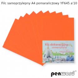 FILC SAMOPRZYLEPNY A4 POMARAŃCZOWY YF645 a'10