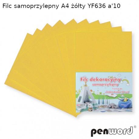 FILC SAMOPRZYLEPNY A4 ŻÓŁTY YF636 a'10