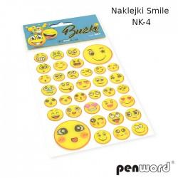 NAKLEJKI SMILE NK-4 BUŹKI