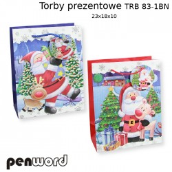 TORBY PREZENTOWE TRB 83-1 BN 23x18x10