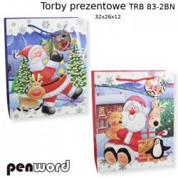 TORBY PREZENTOWE TRB 83-2 BN 32x26x12