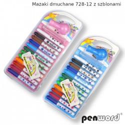 MAZAKI DMUCHANE 728-12 Z SZABLONAMI