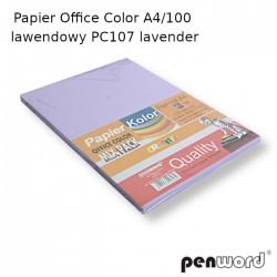 PAPIER OFFICE COLOR A4/100 LAWENDOWY PC107 LEVENDER