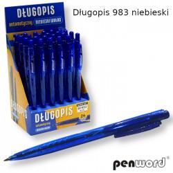 DŁUGOPIS 983 NIEBIESKI