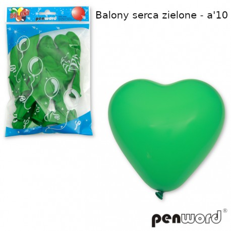 BALONY SERCA ZIELONE - a'10