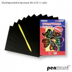 WYDRAPYWANKA TĘCZOWA A6 a'10 + rylec